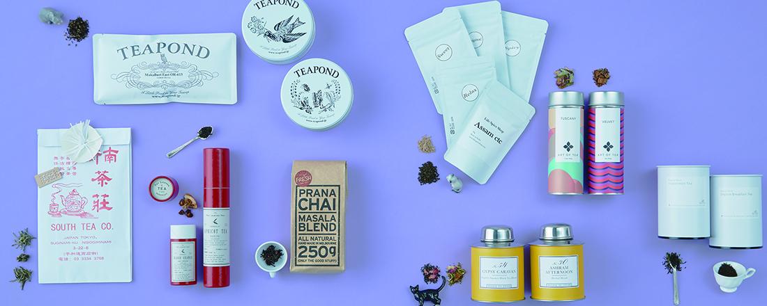 ティータイムを上質に。ゆっくり味わいたい、注目の茶葉ブランド8選