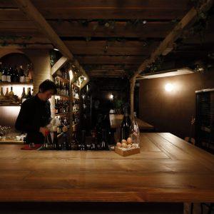 〈komorebino natural wine bar〉/祇園