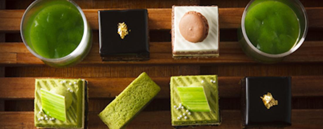 日本庭園を眺める特等席で「抹茶とメロンとチョコレート」。〈ホテルニューオータニ〉で大人気スイーツビュッフェが開催!