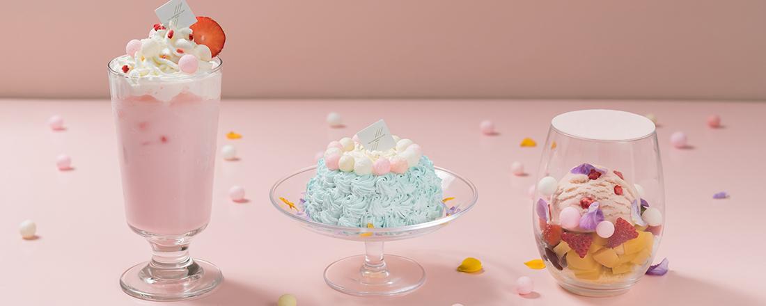 色が変化するブルーレモネードがSNSで話題!〈THE CAMPANELLA CAFE〉から春色の新作メニューが登場!