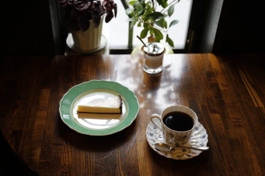 本格派チーズケーキ&芳醇ブレンド1,150円(税込)