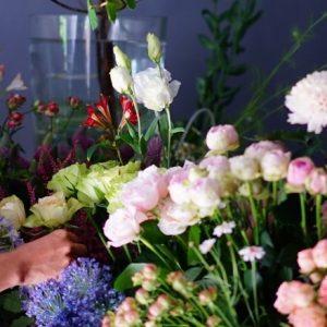 """イクスさんで叶う""""花のある暮らし""""の贈り物。"""