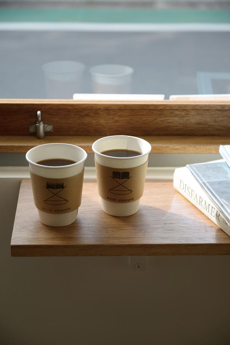コーヒー500円(税込)。