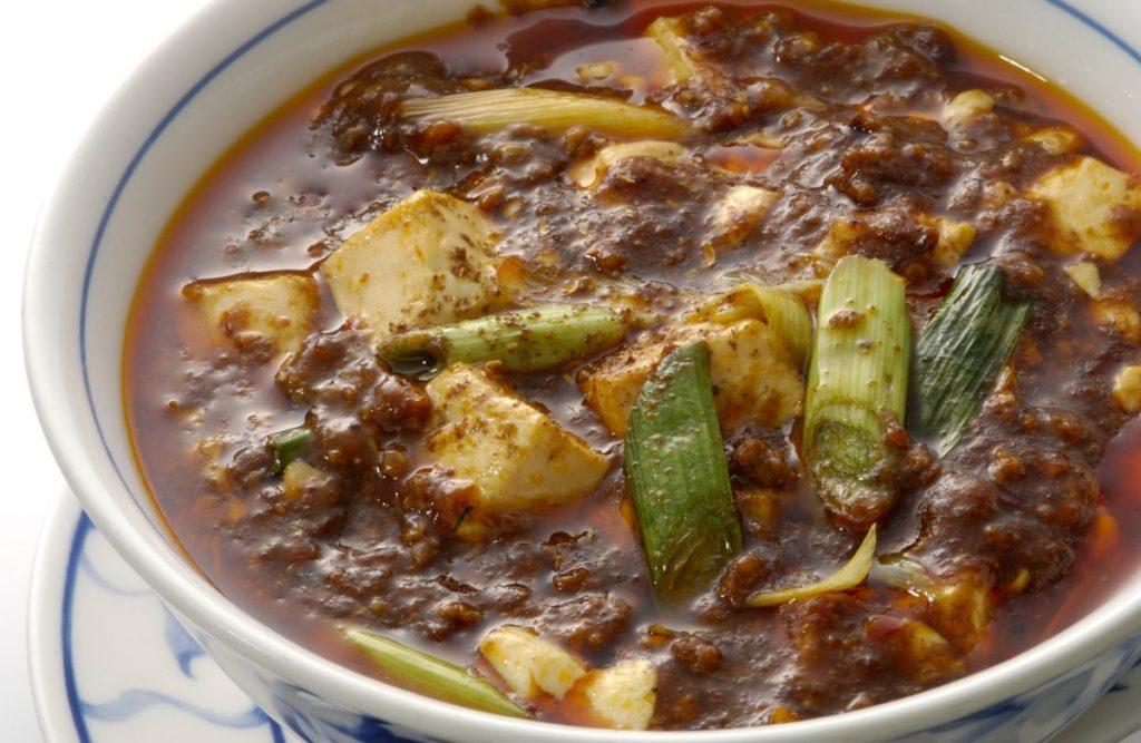 陳麻婆豆腐500円