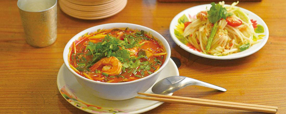 薬味たっぷり「トムヤムラーメン」も!タイ料理激戦区・下北沢で行くべきおすすめ2軒