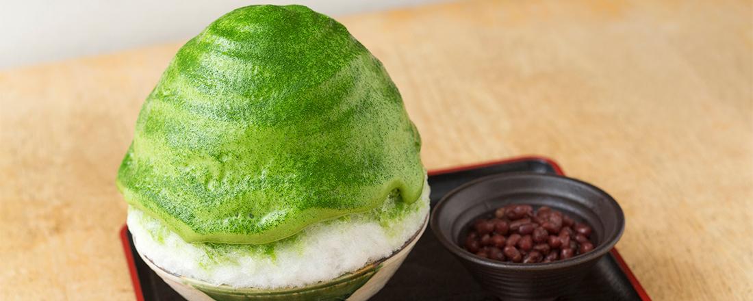絶品抹茶かき氷が楽しめる日本茶専門店2軒