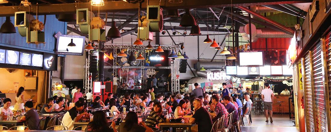 シンガポールのローカルフードが集う!国民の台所「ホーカーセンター」の楽しみ方。【元ハナコのシンガポール書簡】