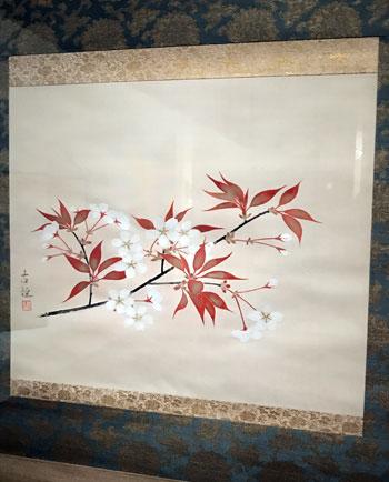 小林古径《桜花》(山種美術館)