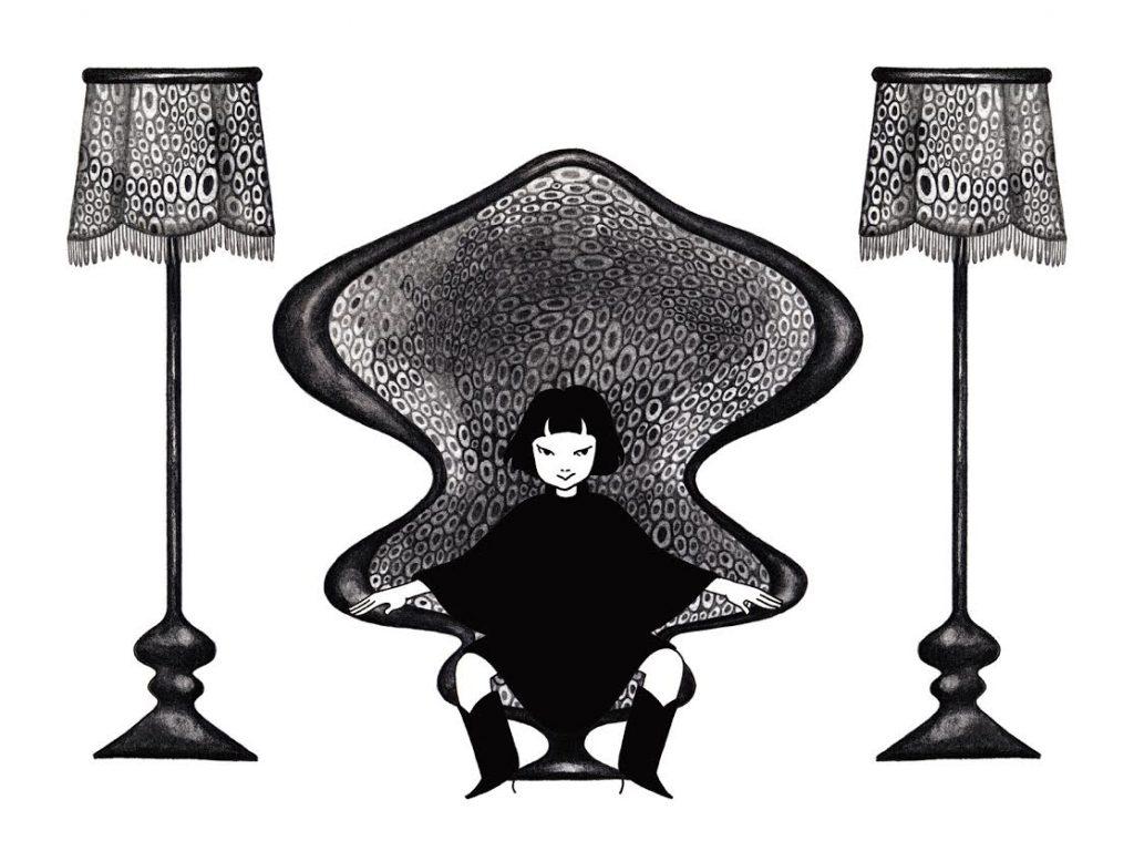 近藤聡乃 《電車かもしれない》 2001-02年 アニメーション 3分56秒 音楽:知久寿焼 Courtesy: Mizuma Art Gallery