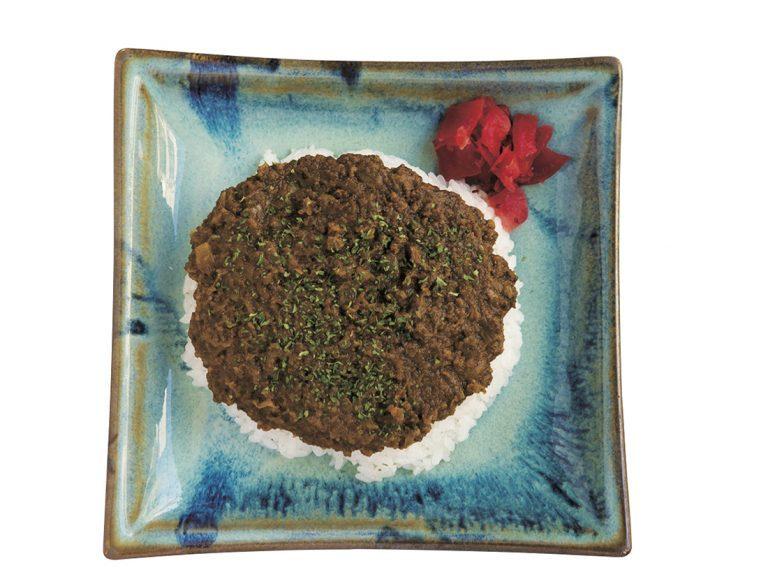 ハイチの家庭料理をベースにしたというこの「ドライカレー」700円(税込)