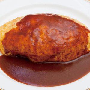 オムライス激戦区・銀座で人気!デミグラスソースのオムライスが美味しい老舗洋食店。