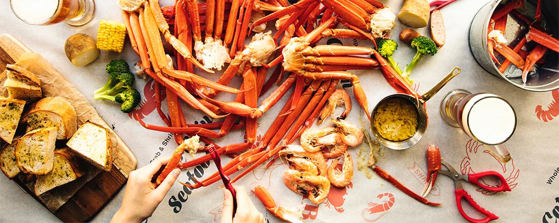 体験型ケイジャンシーフードダイニング〈Catch the Cajun Seafood〉がカニ尽くしフェア開催&江ノ島に2号店オープン!