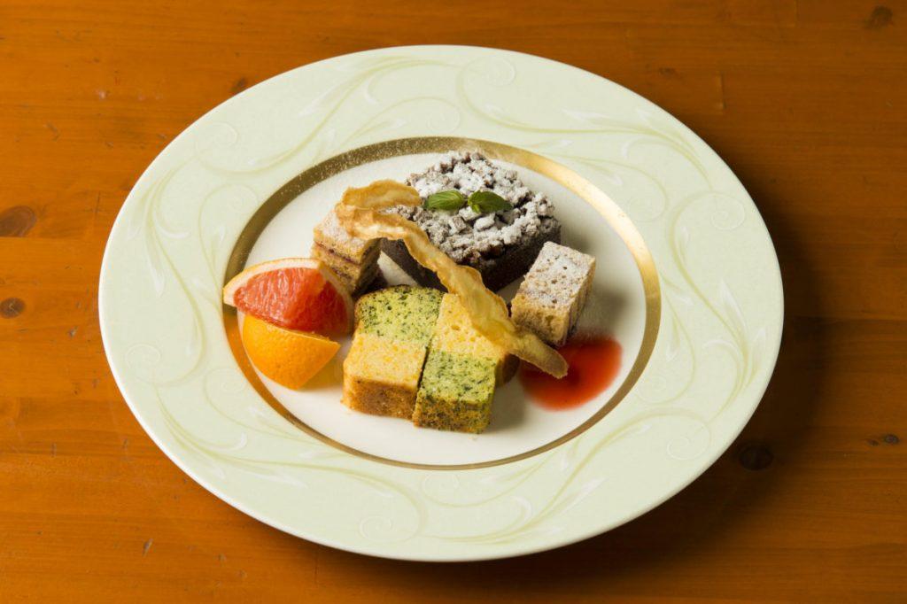「江戸東京野菜のスイーツセット」(1,000円)