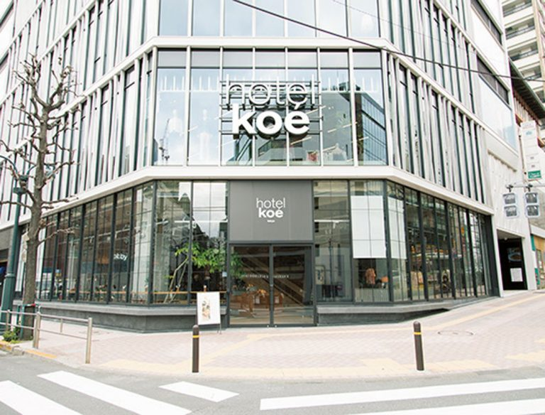 hotel koe tokyo「koe lobby」