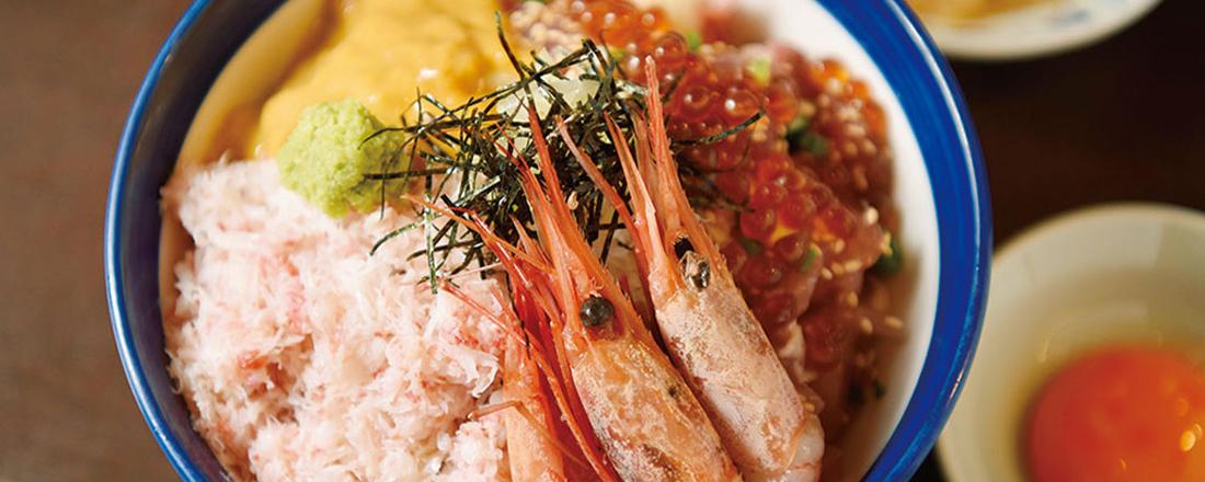 都内で食べられる!カニの身がたっぷりのったおいしい海鮮丼2選