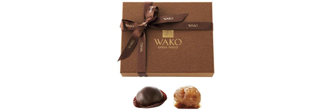 〈 和光アネックス ケーキ&チョコレートショップ 〉のマロンショコラ&マロングラッセ