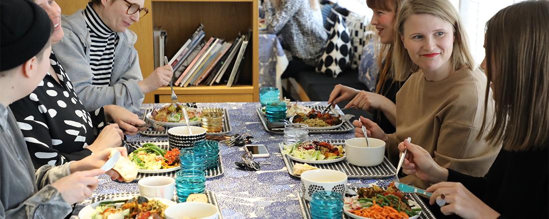 ファーストレディも愛したファッションブランド〈マリメッコ〉の社員食堂がおしゃれ過ぎる!