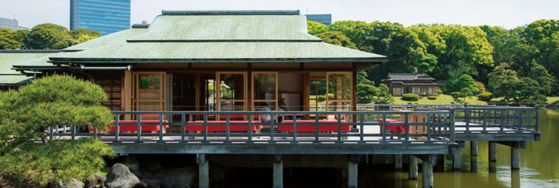 中島の御茶屋(浜離宮恩賜庭園)