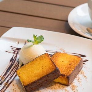 歴史ある「カステラ」の名店をチェック!お店自慢のカステラスイーツが食べられるカフェ。