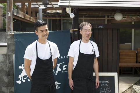 オーナーの福田真之さん(右)と、共同経営者の石田雄さん