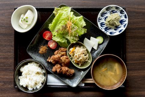 「大豆ミートの唐揚げ膳」1,350円