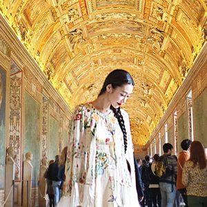 夜のローマと雨のフィレンツェ