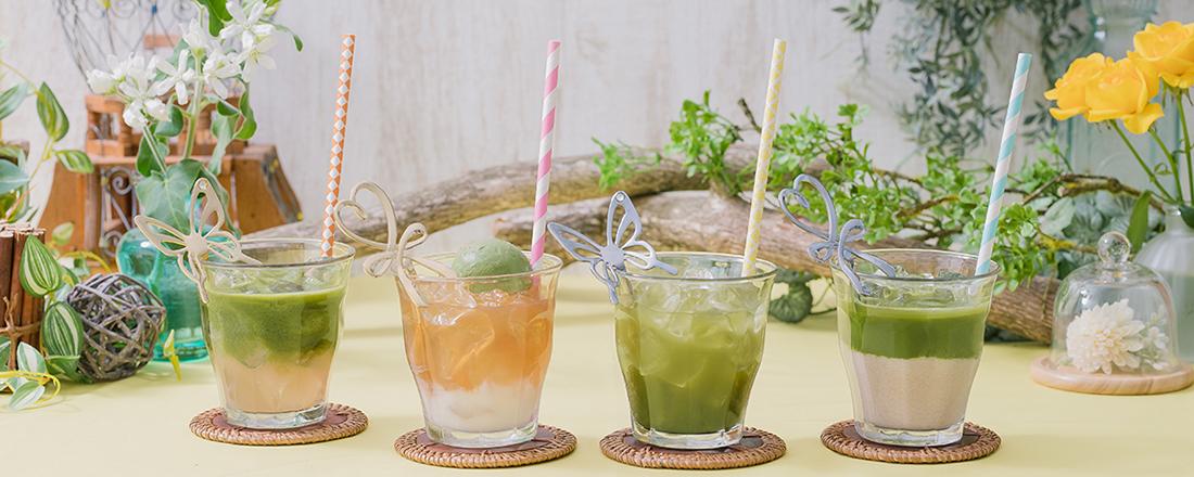 期間限定で無料!スーパーフード・ケールのアレンジドリンクが楽しめる〈Q'SAI Kale Cafe 表参道〉が登場!