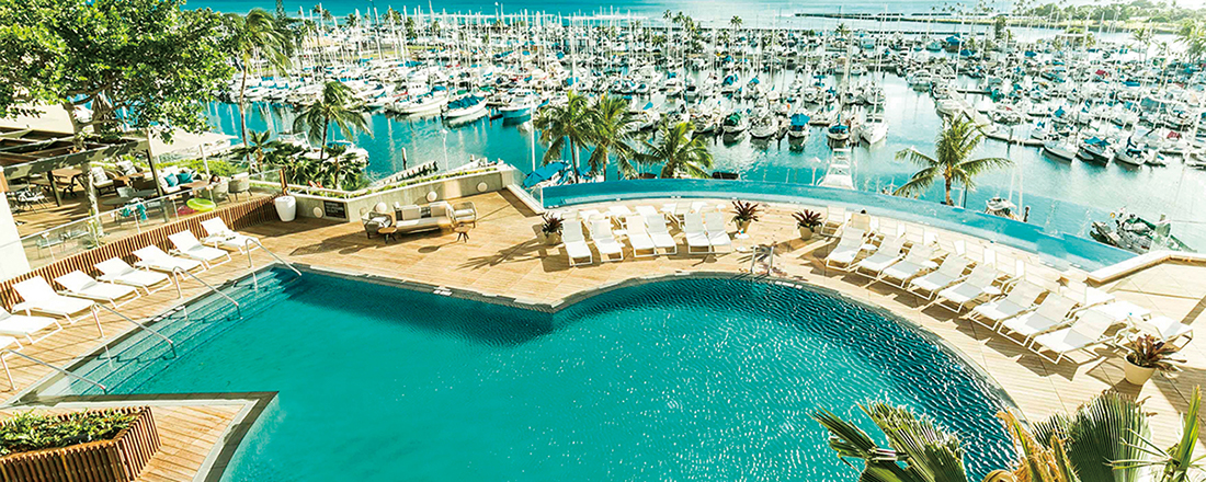 ビーチリゾート・ハワイを堪能するなら、ホテル〈プリンス ワイキキ〉がおすすめ!