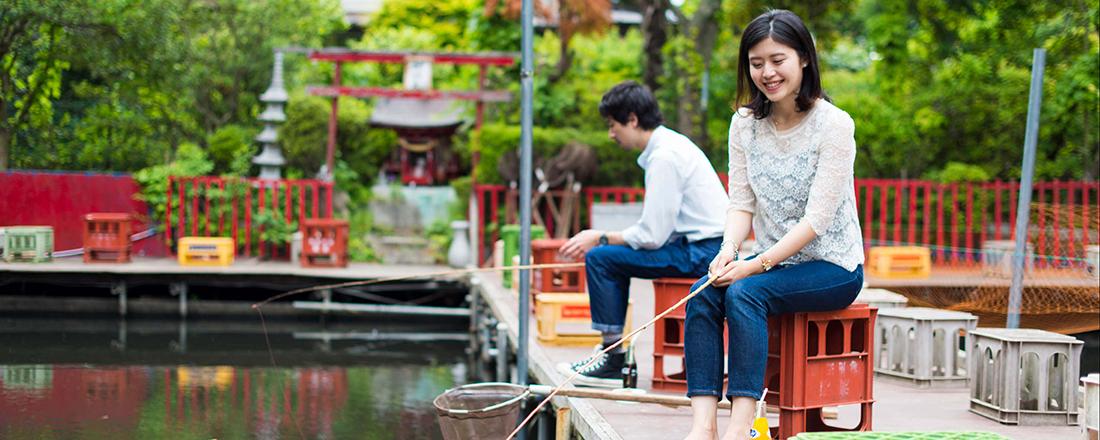 釣り堀は未知の世界!?実はデートにぴったりな魚釣りを楽しめる公園4選!