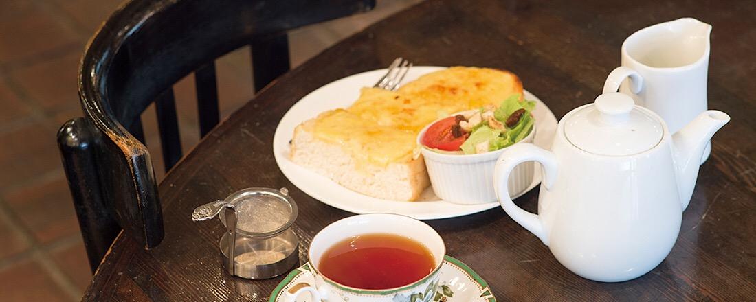 若者の街・原宿にある、大人のための紅茶を楽しむ喫茶店〈クリスティー〉とは?