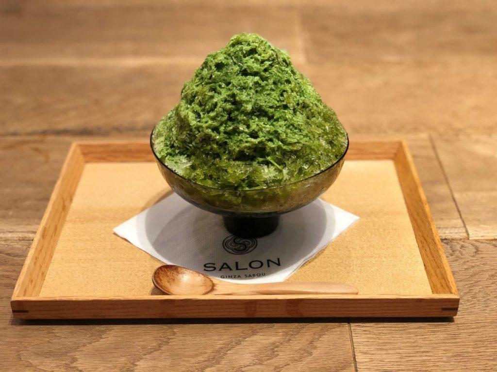 単品 ¥1,100(税抜)、お茶セット ¥1,500(税抜)