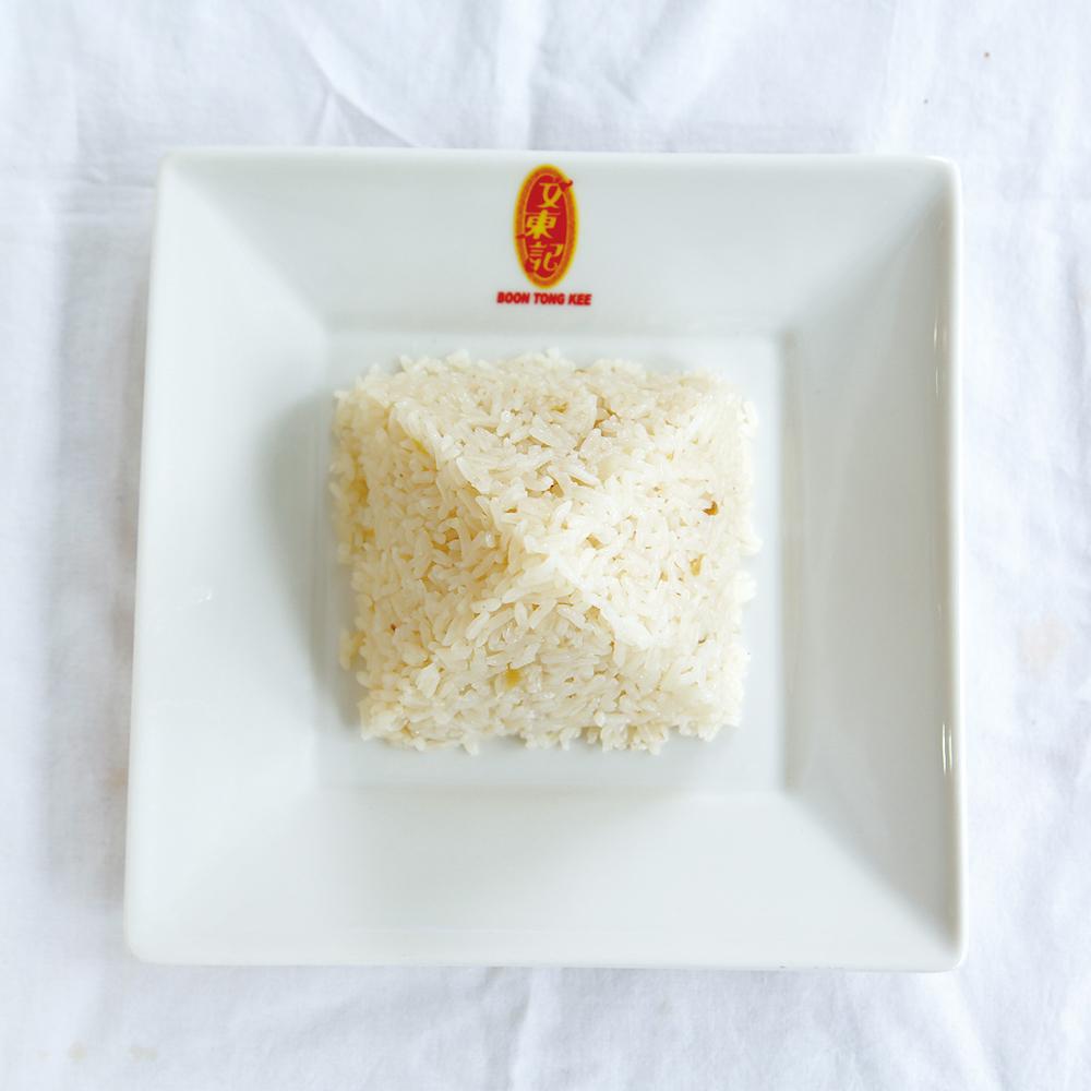 「チキンセット」(ご飯付き)7.15ドル