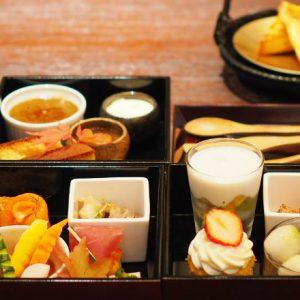 〈パレスホテル東京〉と日本酒〈八海山〉がコラボ!贅沢なマリアージュにうっとり。