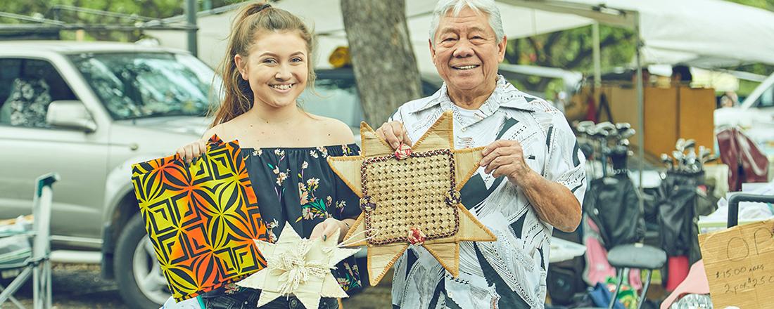 ばらまき土産は、ハワイ最大級フリーマーケット「スワップミート」でゲット!