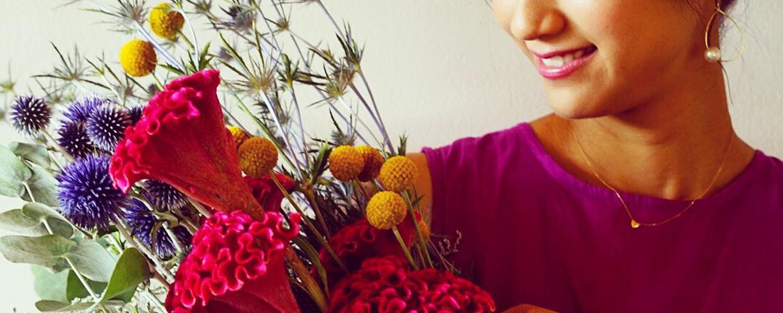 """フラワーアーティストおすすめの""""夏らしい""""お花たち。"""