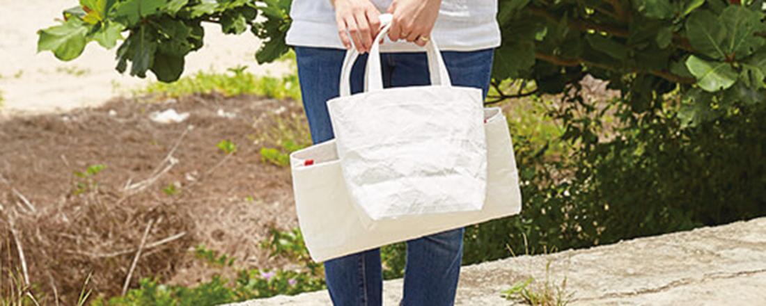 エコと福祉とアートをつなぐ。デイリー使いにもぴったり!沖縄で手に入る「牛乳パックバッグ」とは?