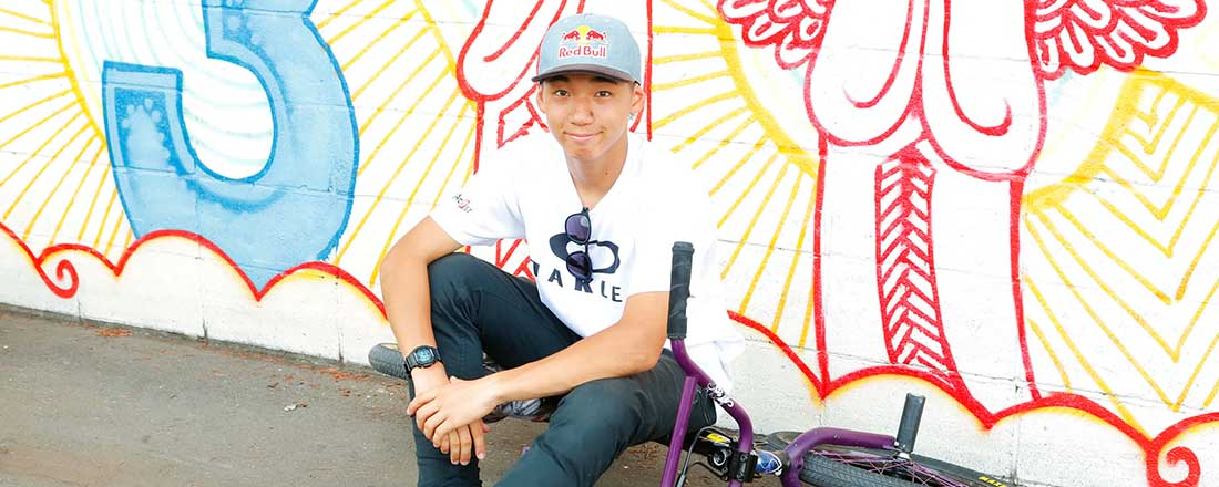【BMX ウイングアーク1st  中村輪夢選手】強さの秘密はポジティブ、マイペース!