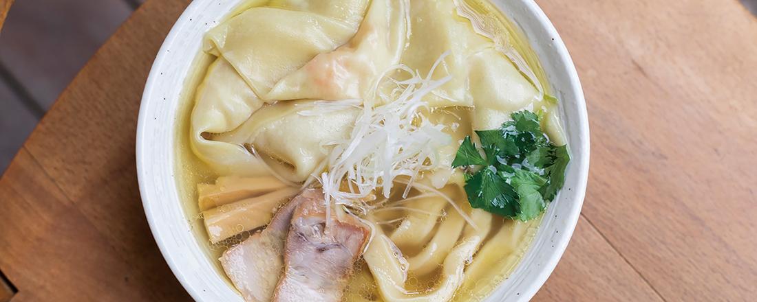 ラーメンマニア注目の新店!下北沢〈純手打ち 麺と未来〉の進化系ラーメンをチェック!