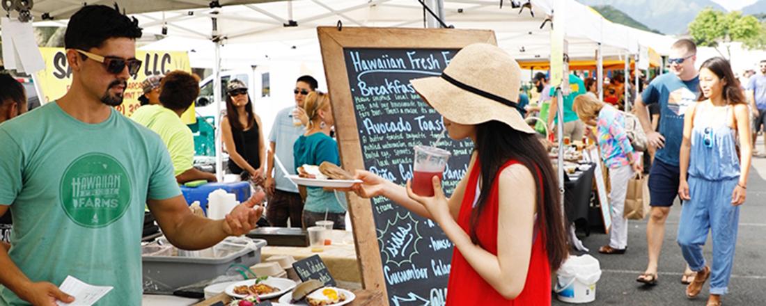【ハワイ】週末は人気ファーマーズマーケットで、ロコライフを体感!