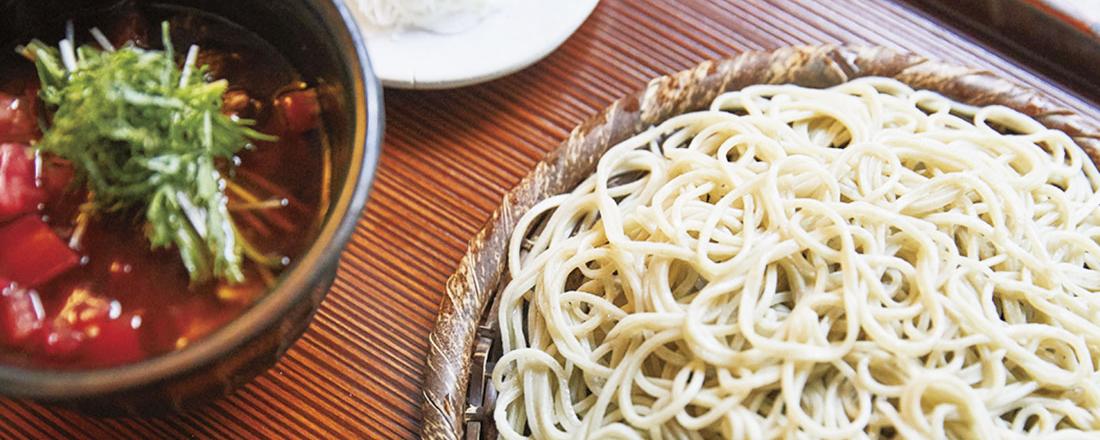 自然派ワインとのペアリングも。静岡・浜松の人気蕎麦屋さん〈手打ち蕎麦naru〉が気になる!