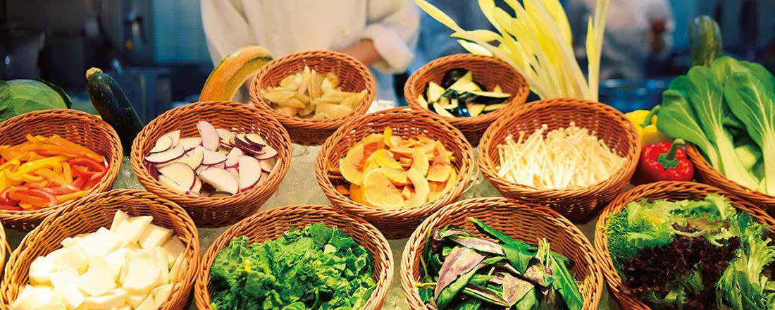 ランチはオーガニック野菜をたっぷり補給!産地直送の有機野菜が食べられるお店が知りたい!
