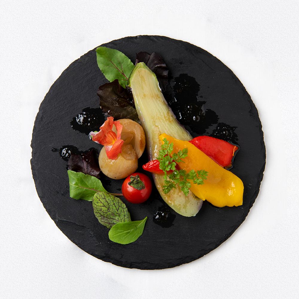 エスカリバーダ(焼き野菜のマリネ)800円