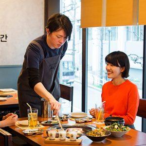 コリアンBBQレストラン〈サムゴリプジュッカン 東京〉の、進化系サムギョプサルとは?