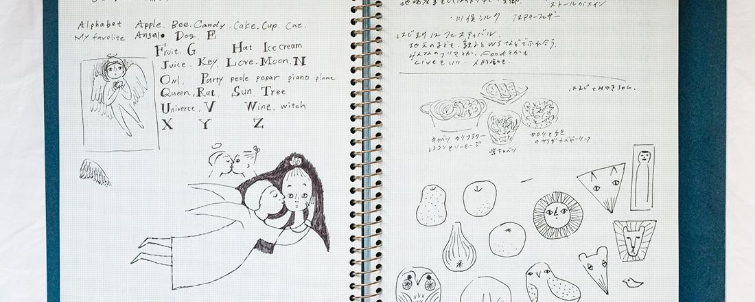 人気イラストレーター・平澤まりこさんに聞いた!愛用文房具と、実際にどう使っているの?