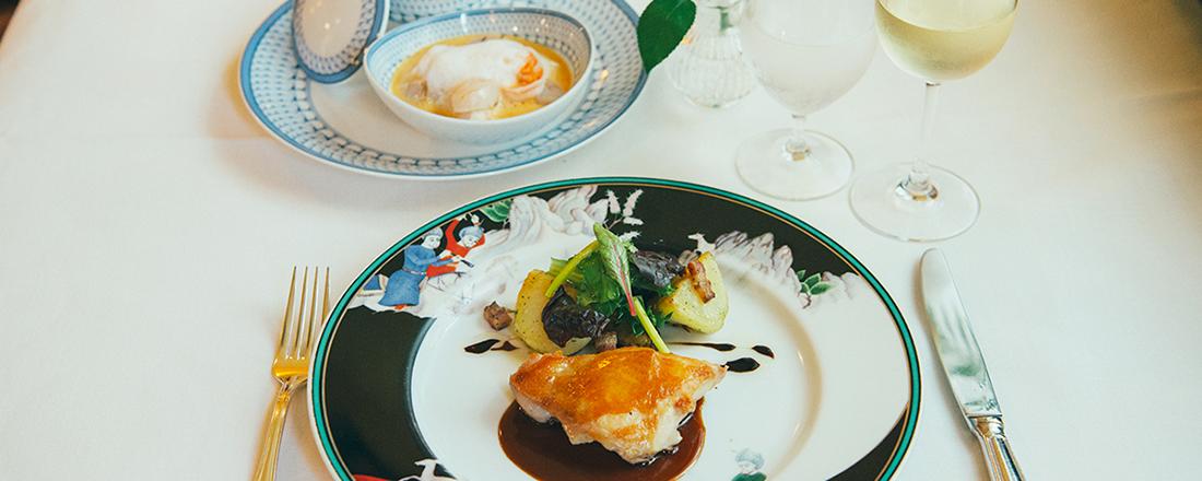 横浜・元町のクラシカルなフレンチレストラン〈霧笛楼〉で、ロマンティックな横浜を満喫!