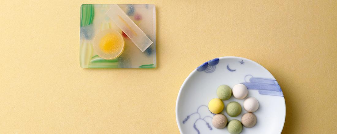 【京都】和菓子×京作家の器!晩夏の、目にも涼しい一皿とは?
