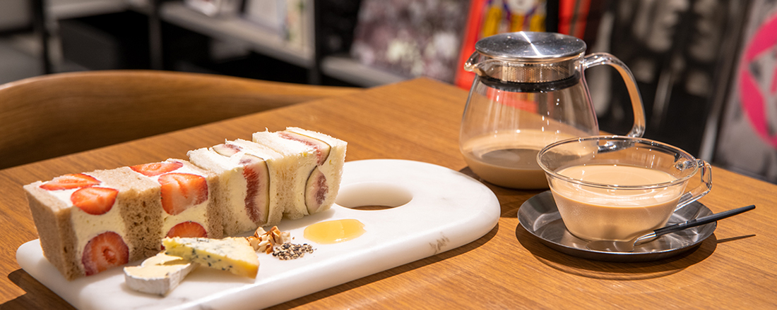 【銀座】絶品スイーツも要チェック!UK・NYテイストのおしゃれなブックカフェとは?
