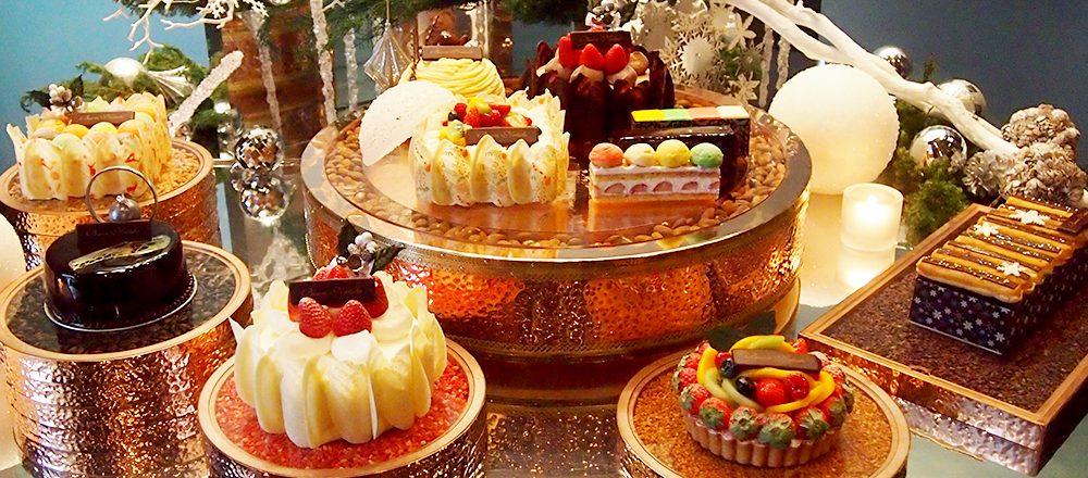 〈グランド ハイアット 東京〉の輝くクリスマスケーキで、聖夜を盛り上げる!