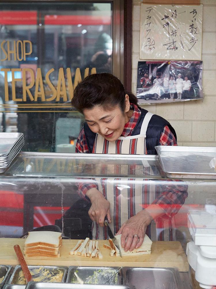 サンドイッチやコッペパンサンドのマヨネーズは自家製で、亜麻仁オイルと米油だけで作るというこだわり。