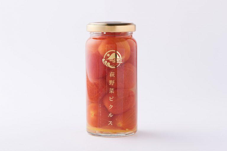 「萩野菜ピクルス プチトマト sweet ハニーシロップ」小 70g  (税込800円)